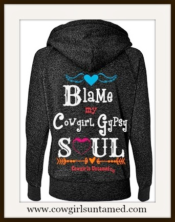 COWGIRL GYPSY SWEATSHIRT
