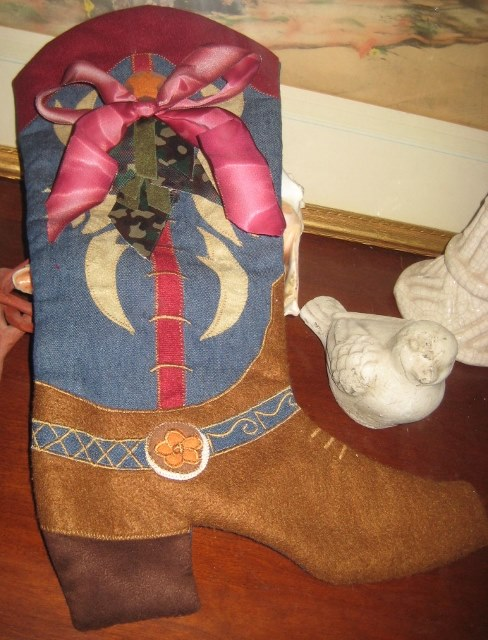 Burgundy Velvet Christmas Stockings