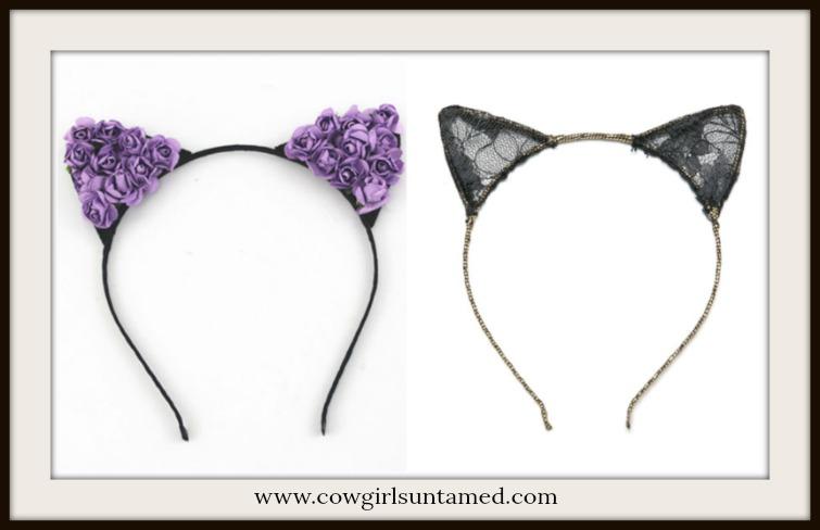 CAT EARS HEADBAND Fancy Barn Cat Ears Headband