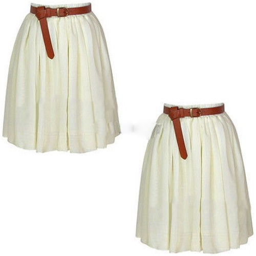 COWGIRL STYLE SKIRT Chiffon Lined Western Mini Skirt