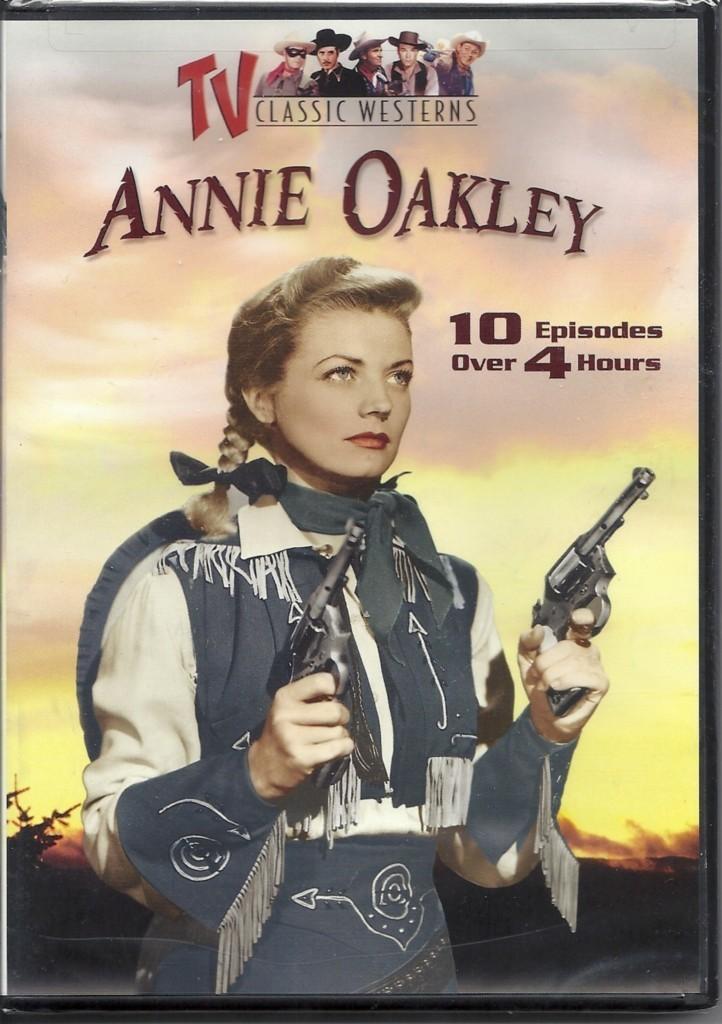 DVD Annie Oakley Classic Cowgirl TV Show Western Movie