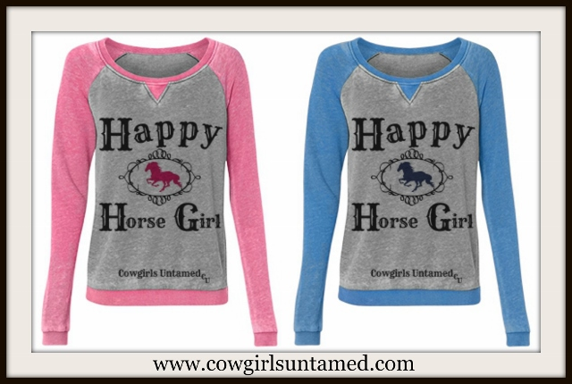 WESTERN COWGIRL PULLOVER