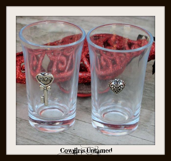 COWGIRL STYLE DECOR Custom Western Shotglass