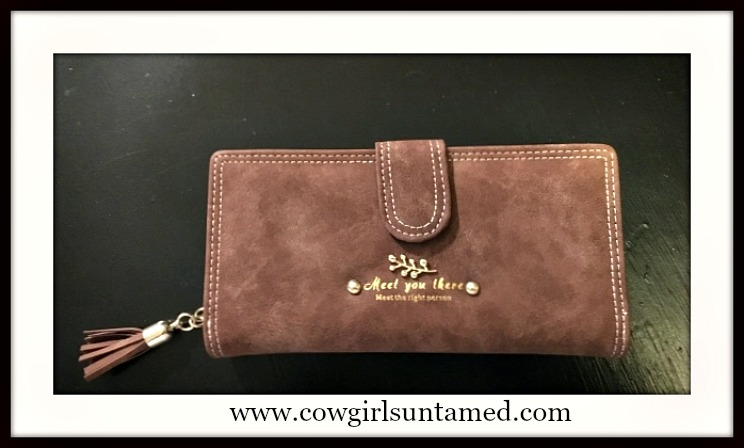 COWGIRL STYLE WALLET