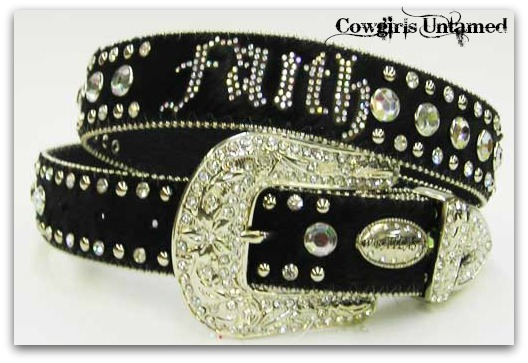 ATLAS BELT Rhinestone Studded