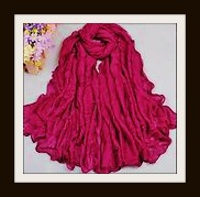 COWGIRL GYPSY SCARF Wine Red Burgandy Long Western Scarf  Wrap Shawl
