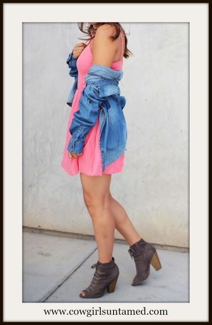 NASTY GAL DRESS Pink Strappy OPen Back Mini Designer Dress