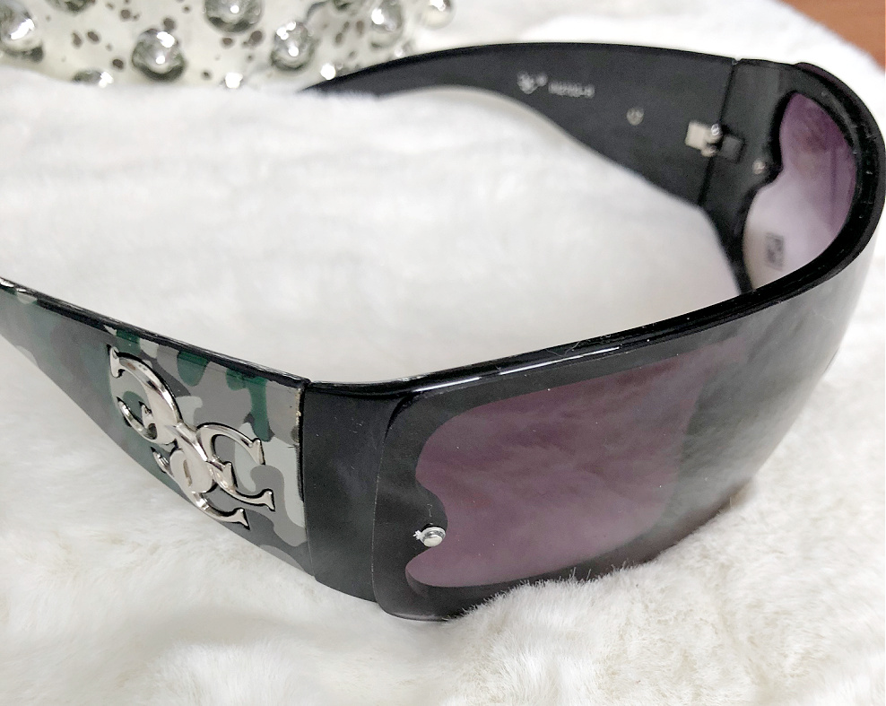 CAMO STYLE SUNGLASSES Green Camouflage  Womens Western Sunglasses