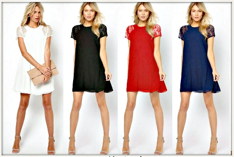 Cowgirl Gypsy Style White Lace Cap Sleeve Chiffon Loose Fit Western Mini Dress Or Tunic Top Blue Navy Blue White Black Red Lace Dress Lace