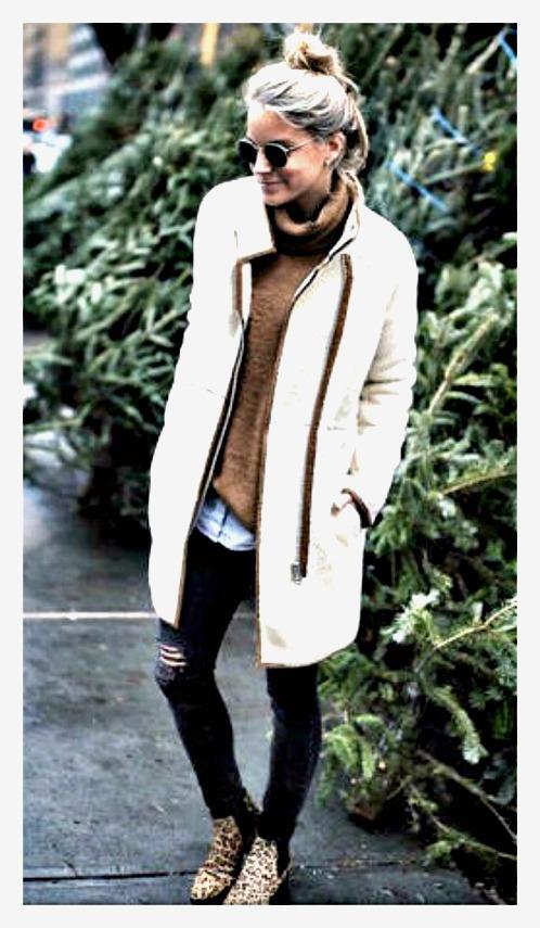 MAGNOLIAS BLOOM JACKET Long Sleeve Zip Front  Zip Front Fleece Jacket