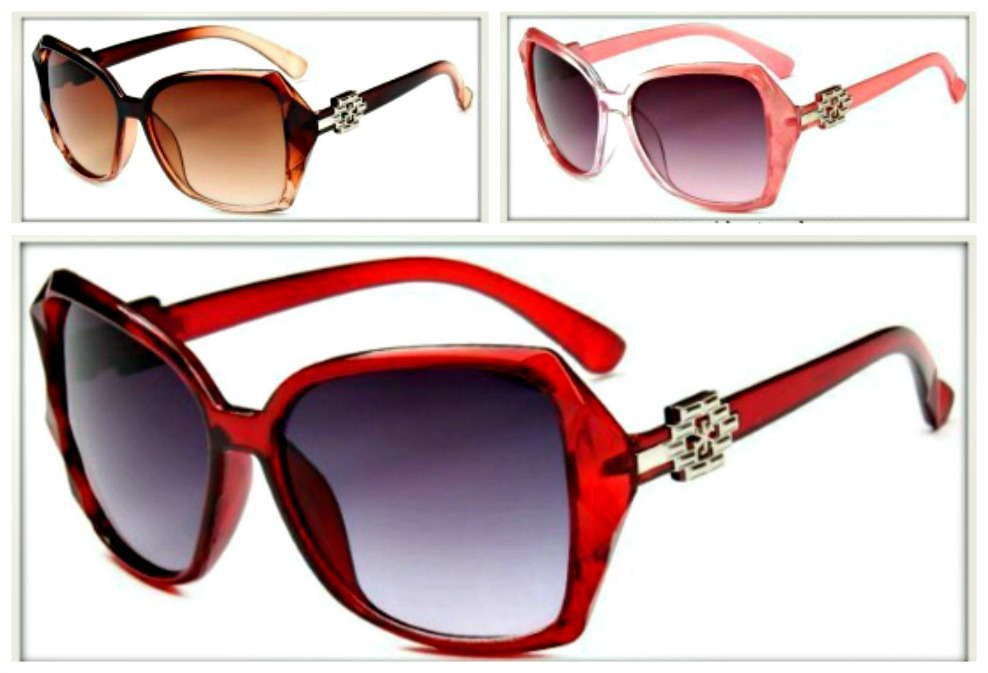 GOING GLAM SUNGLASSES Ombre Large Boutique Sunglasses
