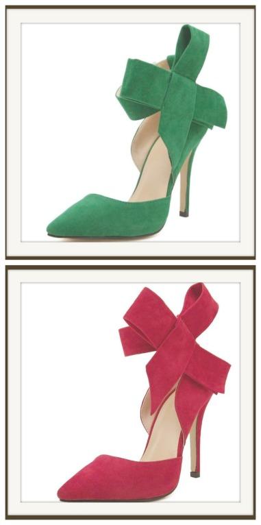 COWGIRL GLAM HEELS Big Bow Side Stiletto Heels