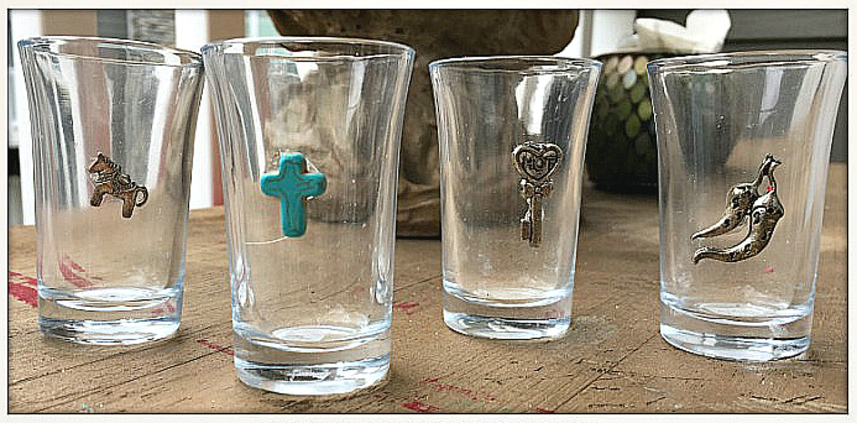 WESTERN STYLE SHOT GLASS Custom Western Shot Glass