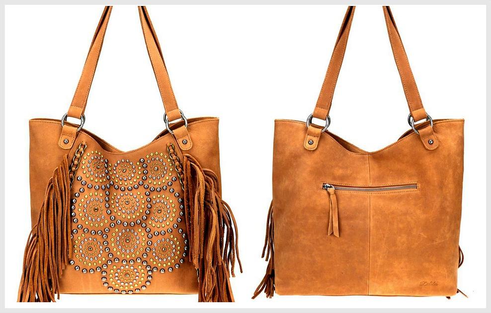 Cotton Bag Bag With Fringe Bag With Tassels Boho Purse