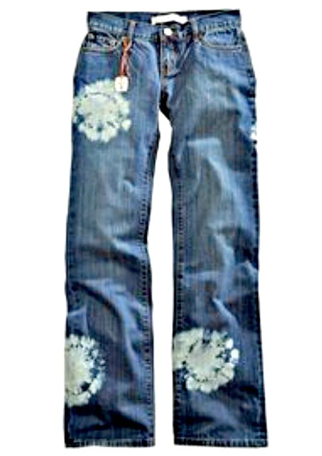 TIN HAUL JEANS Tie Dye X- Boyfriend Low Rise Jeans