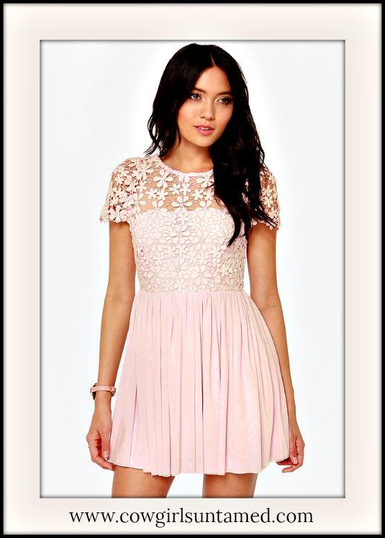 WILDFLOWER DRESS Lace Open Back Chiffon Skirt Mini Dress  4 COLORS!